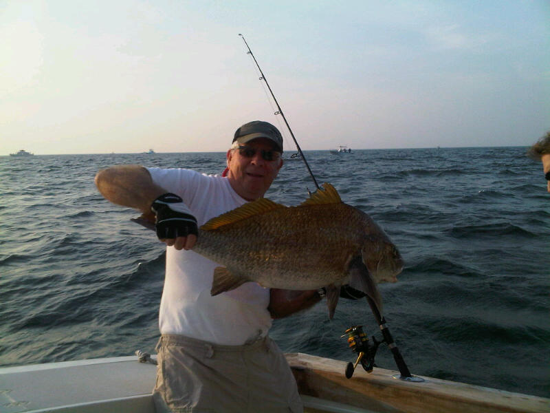 fishing reports cape may drum fishing