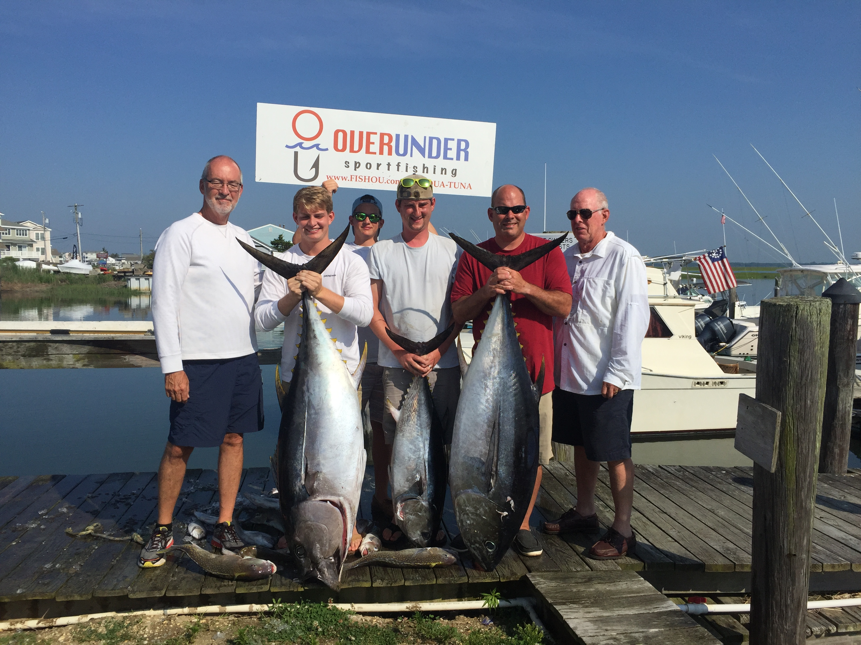 Nj salt fish 2016 07 09 over under charters cape may for Fishing report nj