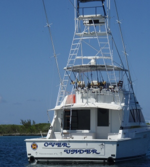 Bahamas Charter Boat - OVER UNDER