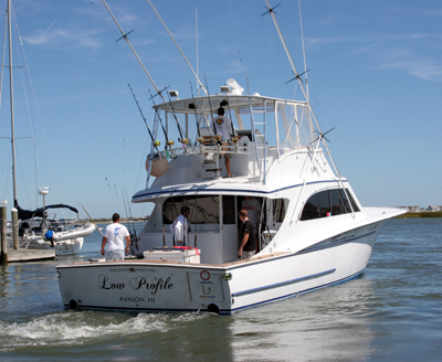 Cape hatteras fishing charters for Hatteras fishing boat