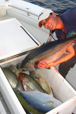 Key West Blackfin tuna fishing