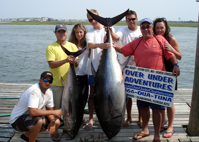 Cape may fishing charters for Tuna fishing charters nj