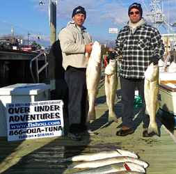 new jersey striped bass charters