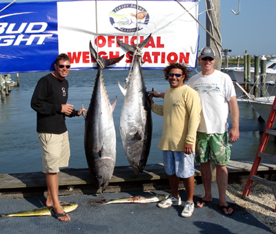 Wildwood fishing reports for Tuna fishing charters nj