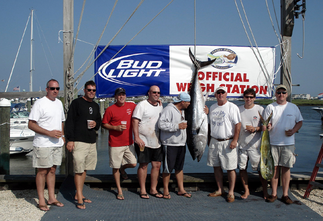 Nj tuna fishing charters for Fishing charters nj