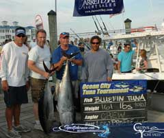 Ocean City fishing trips